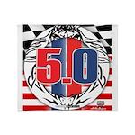 tribal 50 Throw Blanket