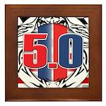 tribal 50 Framed Tile