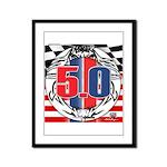 tribal 50 Framed Panel Print