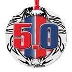 tribal 50 Round Ornament