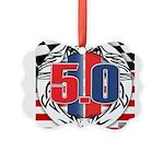 tribal 50 Picture Ornament
