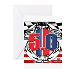tribal 50 Greeting Cards