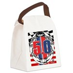 tribal 50 Canvas Lunch Bag