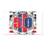 tribal 50 Rectangle Car Magnet