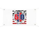 tribal 50 Banner