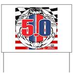 tribal 50 Yard Sign