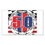 tribal 50 Sticker