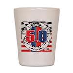 tribal 50 Shot Glass