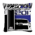 2017 Car Legends Woven Throw Pillow