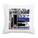 2017 Car Legends Square Canvas Pillow
