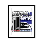 2017 Car Legends Framed Panel Print