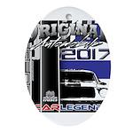 2017 Car Legends Oval Ornament