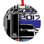 2017 Car Legends Round Ornament