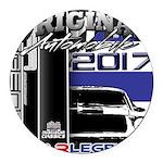 2017 Car Legends Round Car Magnet