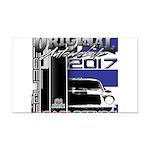 2017 Car Legends Rectangle Car Magnet
