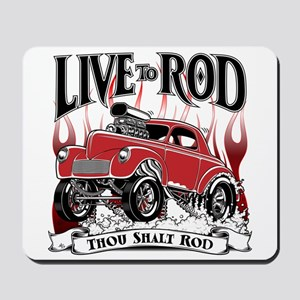 Gasser 41 willys Mousepad