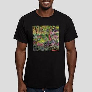 Iris Garden by Monet T-Shirt