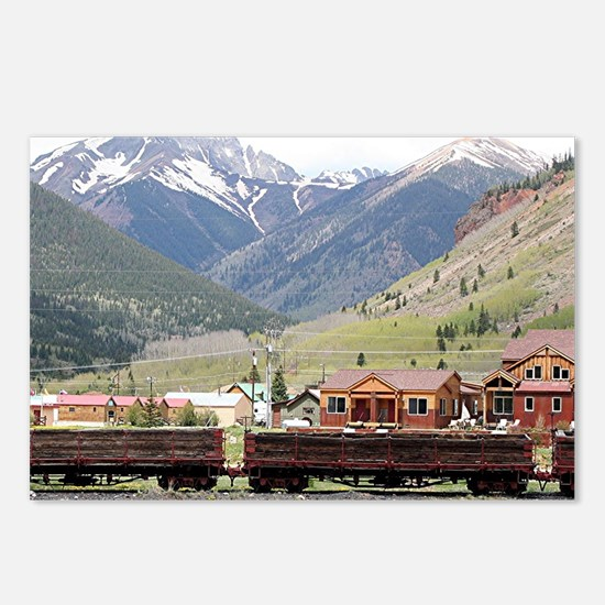 Silverton, Colorado, USA Postcards (Package of 8)