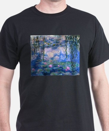 Water Lily by Monet T-Shirt