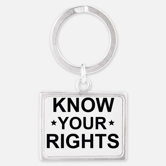 Unique Right free speech Landscape Keychain