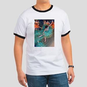 The Green Dancer by Edgar Degas T-Shirt