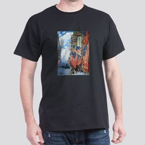 The Fourth of July by Childe Hassam T-Shirt