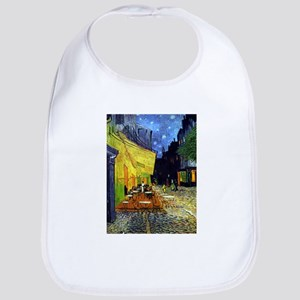 Cafe Terrace at Night by Van Gogh Baby Bib