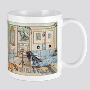 Cozy Corner by Carl Larsson Mugs