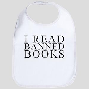 I READ BANNED BOOKS Baby Bib