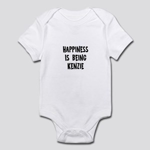 Happiness is being Kenzie Infant Bodysuit