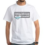 Against Donald Trump Assault White T-Shirt