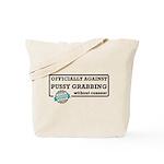 Against Donald Trump Assault Tote Bag