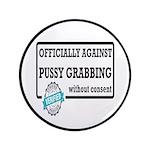 Against Donald Trump Assault Button
