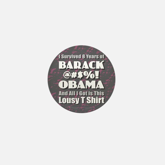 Survived Obama Mini Button (10 pack)