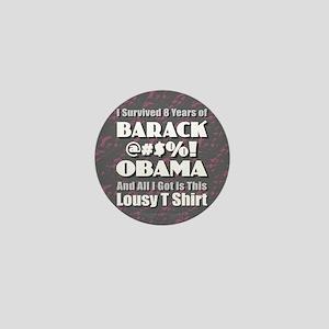 Survived Obama Mini Button