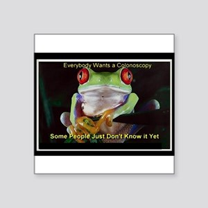 Colon Frog Lrg Sticker