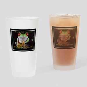 Colon Frog Lrg Drinking Glass