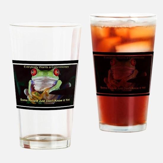 Colon Frog Lrg Drinking Glass
