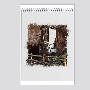 2 story outhouse Postcards (Package of 8)