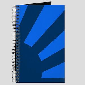 Blue Sunburst Journal