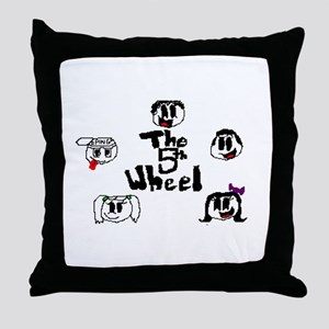 The 5th Wheel Group Photo Throw Pillow