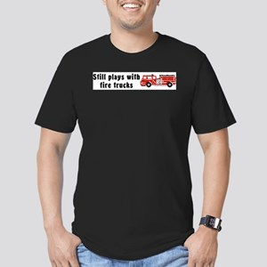 Still plays with fire trucks T-Shirt