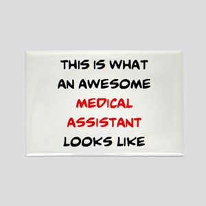 awesome medical assistant Rectangle Magnet