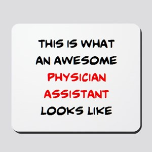 awesome physician assistant Mousepad