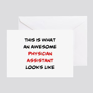 awesome physician assistant Greeting Card