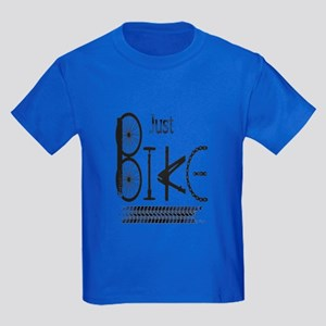 Just Bike Motivational Quote Made From T-Shirt