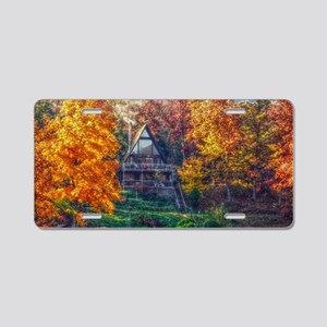 House on the Lake Aluminum License Plate