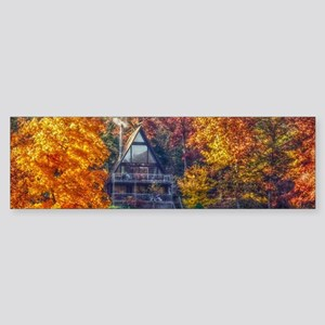 House on the Lake Bumper Sticker