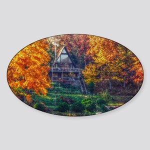 House on the Lake Sticker