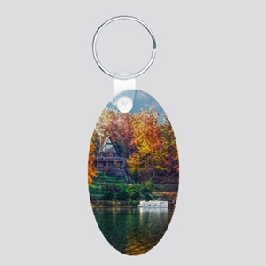House on the Lake Keychains